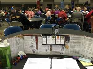 My view for most of GenCon