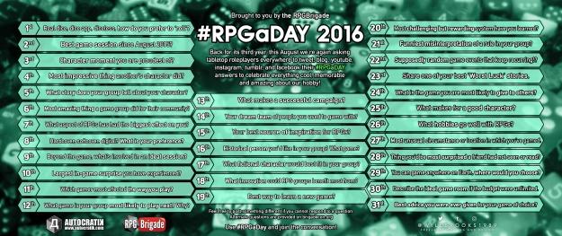 RPGaDay2016