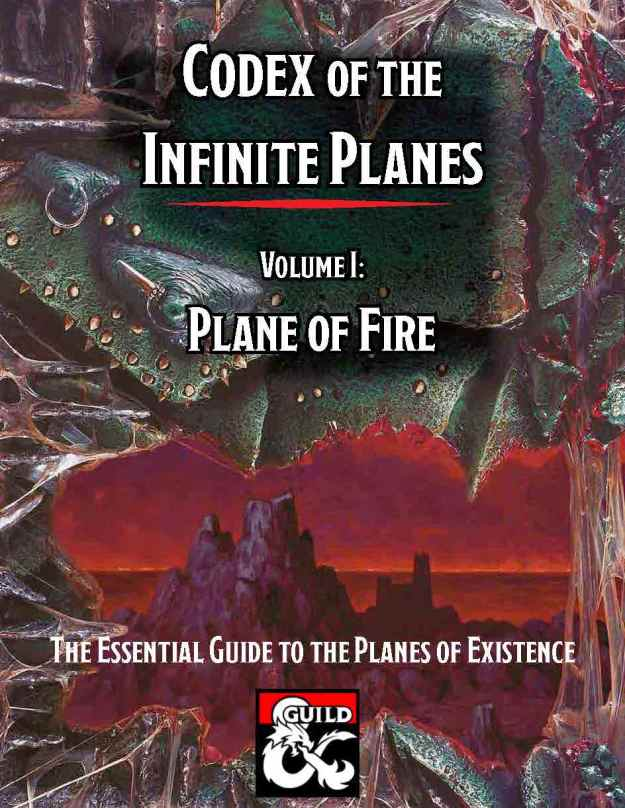 Codex Vol 1 Plane of Fire Cover